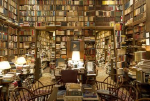 This would be my living room if we didn't have ebooks.