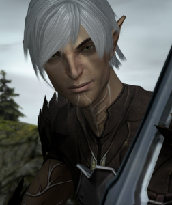 The procedure of branding Fenris with lyrium was so painful that he forgot everything he was before that.