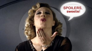 River Song from Doctor Who.