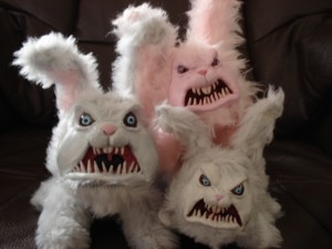 The attack of evil plot bunnies.